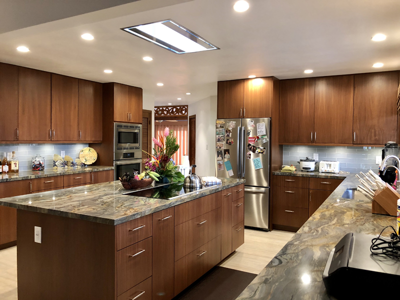 baby beach lahaina kitchen renovation fusion granite countertops mckee construction remodeling maui general contractor